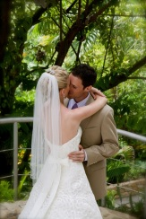 The First Look - Destination Wedding Photography Gaia Manuel Antonio Costa Rica