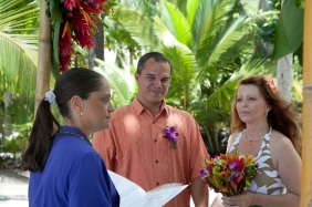 Vow Renewal in Manuel Antonio Costa Rica
