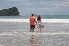 Vow Renewal in Manuel Antonio Costa Rica
