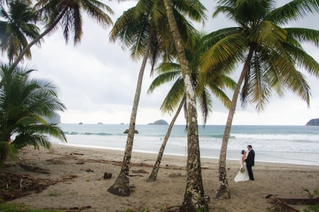 Beach Wedding Photography in Costa Rica by John Williamson