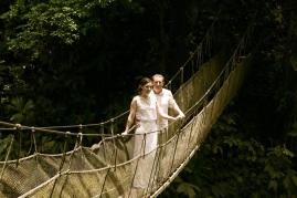 Jungle Waterfall Wedding photography in Costa Rica by John Williamson