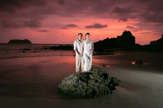 Rainforest and Beach Wedding photography in Costa Rica by John Williamson