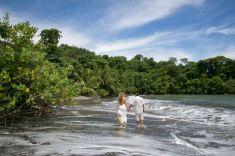 Trash the Dress in Uvita Costa Rica - Wedding Photography by John Williamson