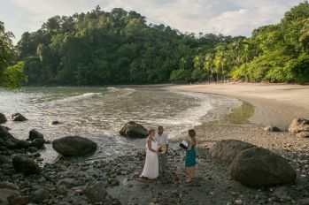 Beach Elopement Wedding Manuel Antonio Costa Rica - John Williamson