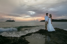 Beach Elopement in Manuel Antonio Costa Rica by John Williamson Photography