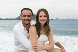 Trash the Dress in Manuel Antonio Costa Rica - Photography by John Williamson
