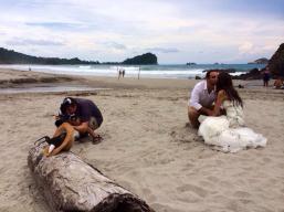 Trash the Dress in Manuel Antonio Costa Rica - Photography by John Williamson