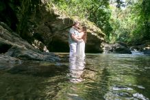 Waterfall Elopement Wedding in Uvita Costa Rica by John Williamson Photography