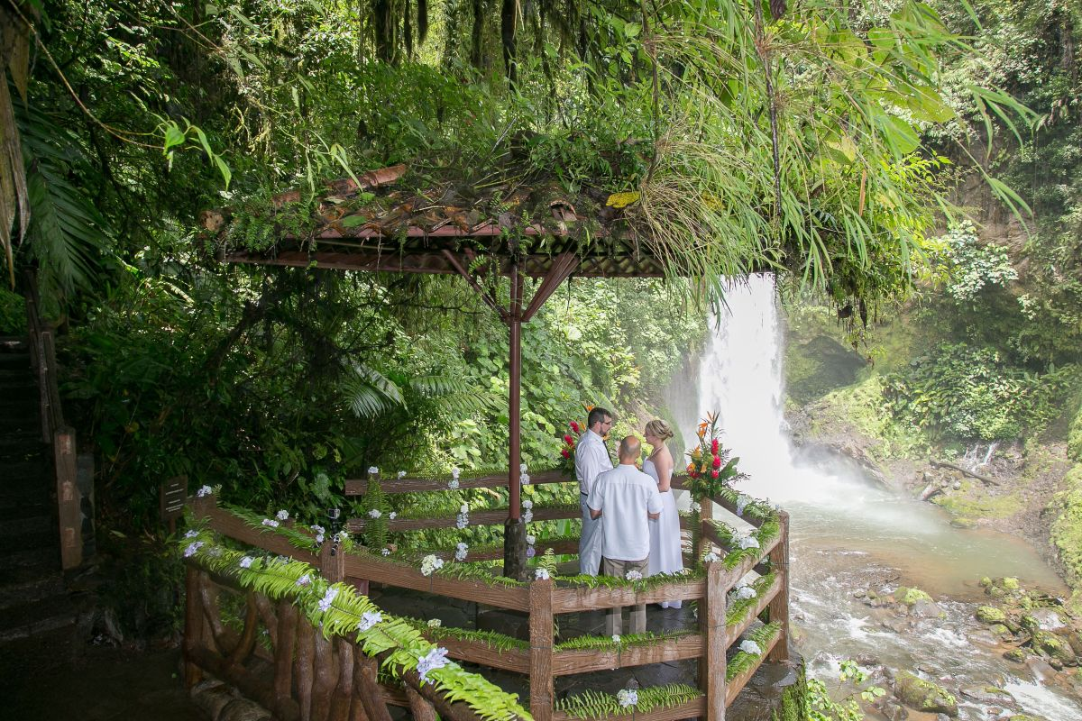Elopement At La Paz Waterfall Gardens Costa Rica 2015 John Williamson Photography