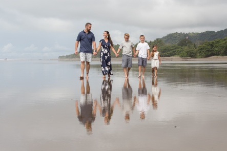 Family Photography in Manuel Antonio Costa Rica by John Williamson Photography