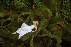 Waterfall Wedding in Costa Rica by John Williamson Phototgraphy
