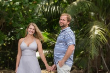 John Williamson Photography Costa Rica - Waterfall and Beach Engagement Photographer
