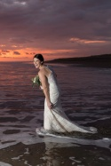 Sunset Beach Elopement photography in Costa Rica by John Williamson