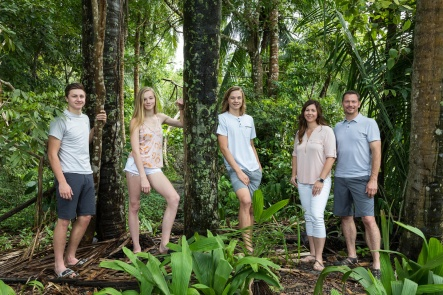Professional Family Photographs in Costa Rica by John Williamson